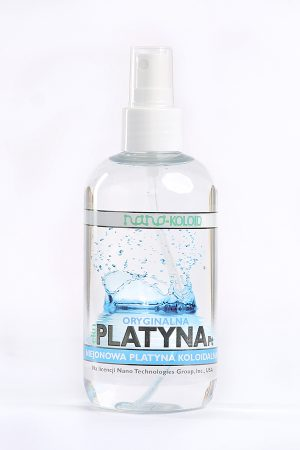 Platyna Koloidalna Naturebiotic Pt 10 PPM - 250 ml z atomizerem