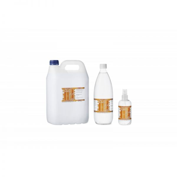 colloidal copper Naturebiotic Cu 50 PPM - 250ml with an atomizer