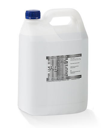 Srebro Koloidalne Naturebiotic Ag 50 PPM- 5 l karnister