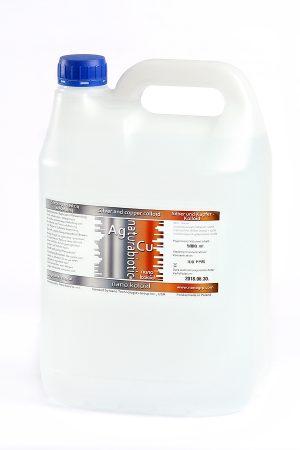Nano Srebro z Miedzią Ag/Cu 100 PPM - 980 ml