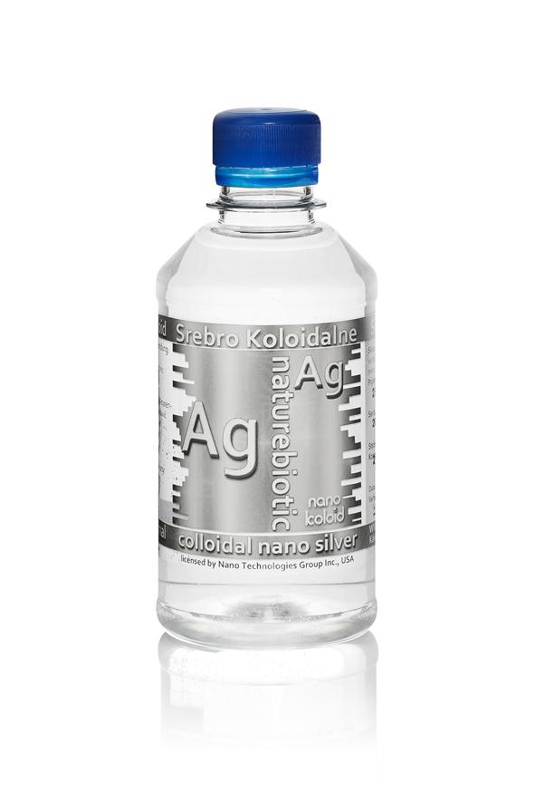 Nano Srebro Ag 50 PPM- 250 ml