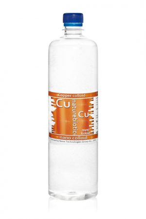 Nano miedź Cu 50 PPM - 980 ml with screw cap