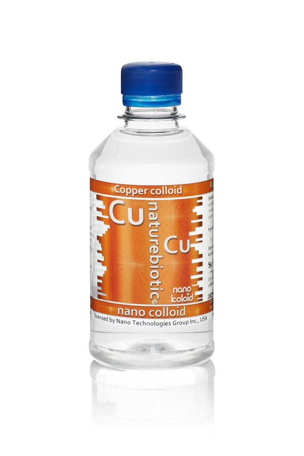 Colloidal Copper Naturebiotic Cu 50 PPM - 250ml with screw cap